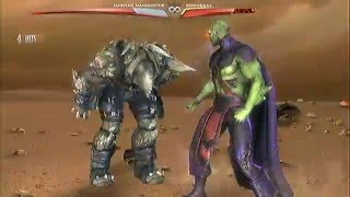 #6 INJUSTICE GODS AMONG US : MARTIAN MANHUNTER VS DOOMSDAY (ALIEN ATTACK)