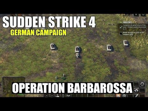 Sudden Strike 4 German Campaign 'Operation Barbarossa'