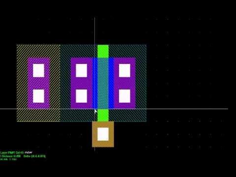ic layout mask design ic layout designer