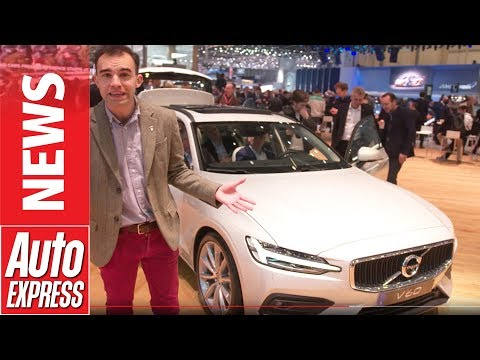 New Volvo V60 makes Geneva Motor Show debut - a super-stylish Swedish estate