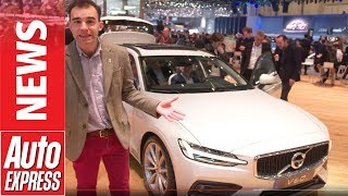 New Volvo V60 Makes Geneva Motor Show Debut - A Super-Stylish Swedish Estate