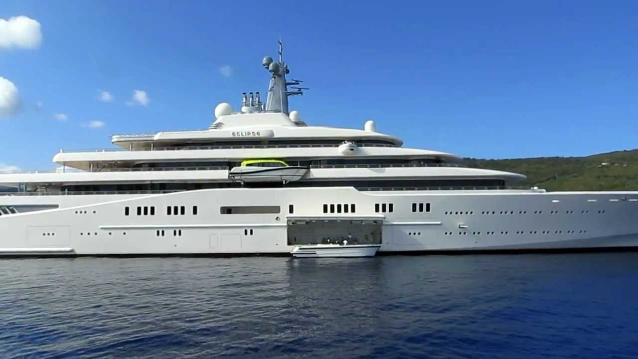 Yacht Eclipse Largest Yacht In The World In Kefalonia Greece September 6 2012