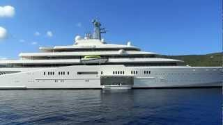 Yacht Eclipse (Largest Yacht in the World) in Kefalonia Greece September 6, 2012