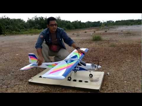 T.Kalong FS,Kemaman - Maiden Flight TRI 40