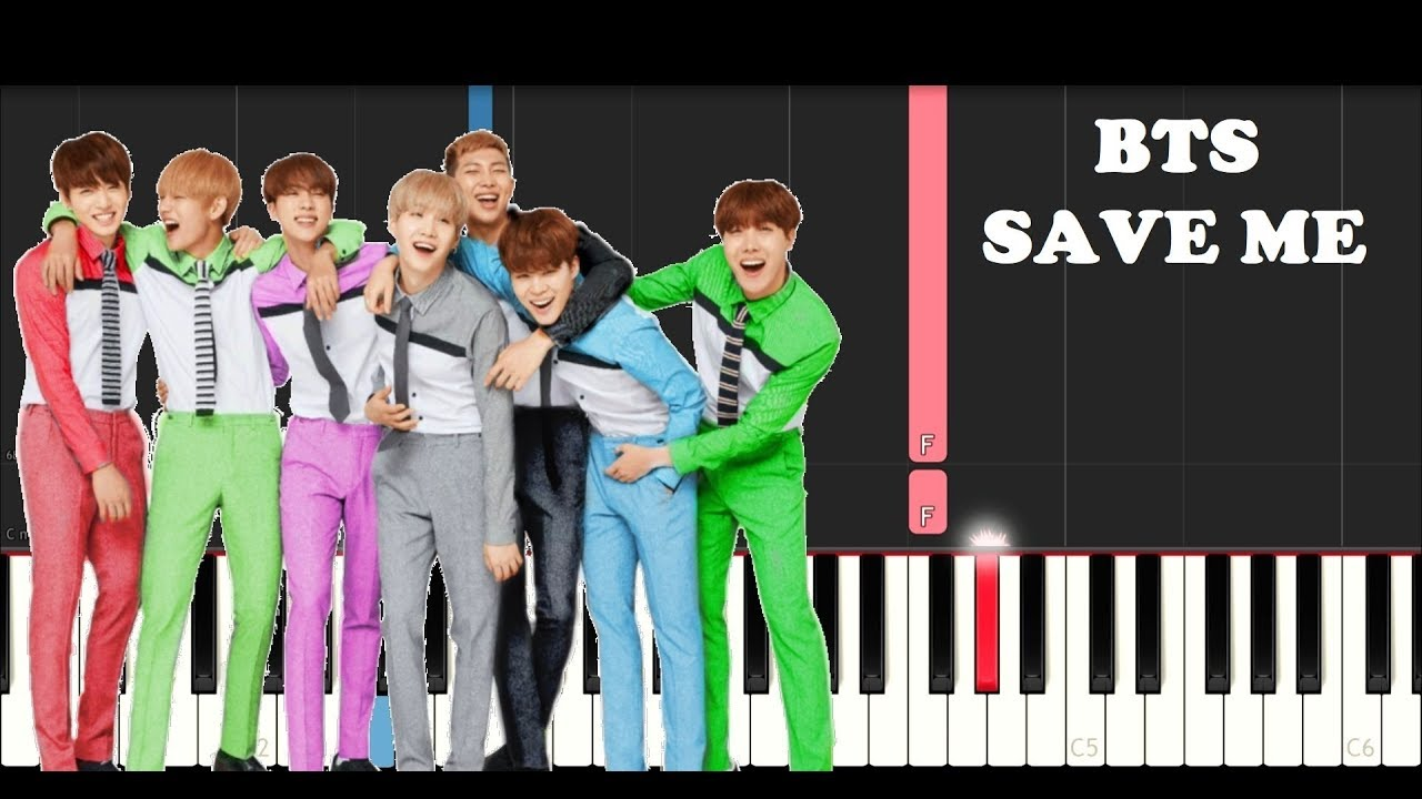 download lagu bts save me piano cover