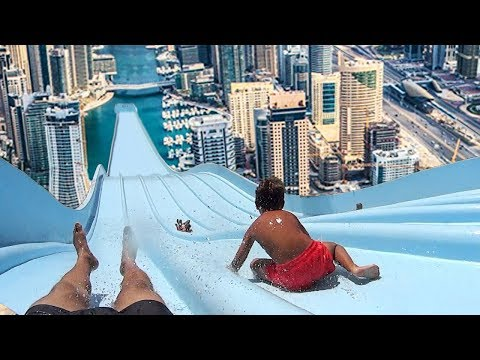 Thumbnail: Top 5 LONGEST WATERSLIDES IN THE WORLD!
