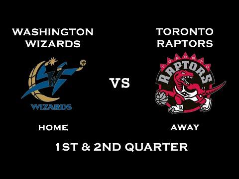 NBA 2K10 (Gameplay): Washington Wizards vs. Toronto Raptors (1st & 2nd Quarter)