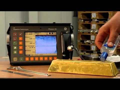 Testing the Purity of Gold Bars with Phasor XS