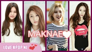 Maknae in KPOP Girl groups