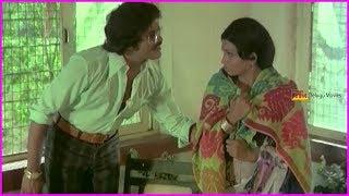 Mega Star Chiranjeevi Best Scene In Telugu - I Love You Movie Scenes