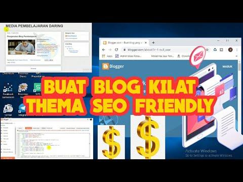 Tutorial Blogger Pemula Lengkap.