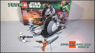 Lego Star Wars 75015 Corporate Alliance Tank Droid Review