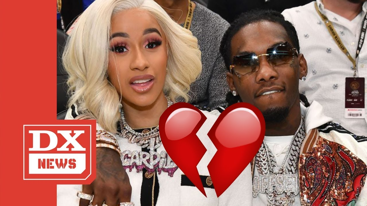 Cardi B Says She Split With Offset Twitter Is Conflicted Youtube