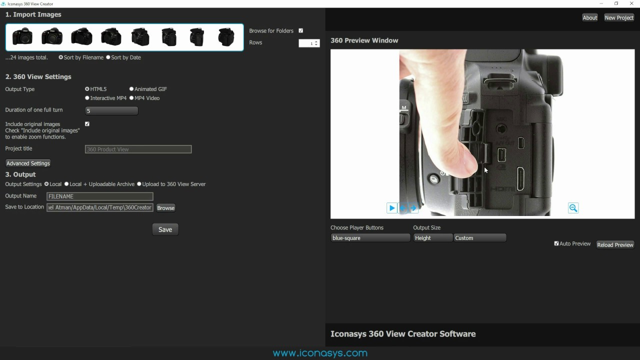 360 Product View Creator Software for Mac & Windows - How it