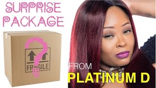 surprise package from platinum d   unboxing   kj takeover