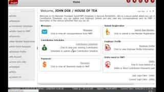Employer Self Service Portal Login