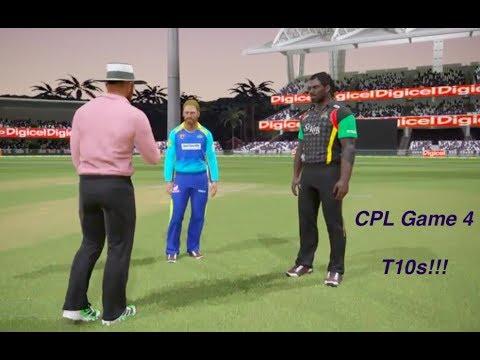 Caribbean Premier League : T10s!! Game 4: Patriots vs Tridents (Ashes Cricket 2017 )