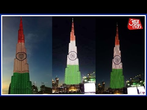 Khabardaar: Burj Khalifa lights up in tricolour ahead of Ind