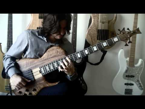 My One And Only Love Chord Melody On Bass Guitar Youtube