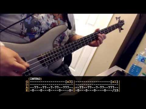 Cherub Rock - Smashing Pumpkins Bass Tribute w/ Tabs