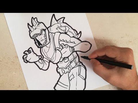 ᐈ Dibujos De Fortnite Para Colorear Y Recortar