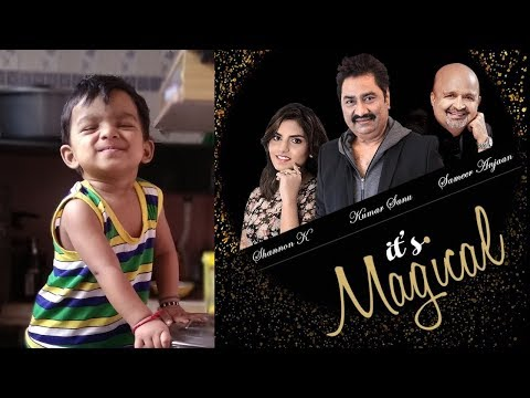 "Kumar Sanu's 10 months old fan wants kiss every time when Kumar Sanu sings ""Nasha..."" Its Magical!"