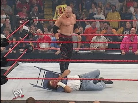 Kane destroys Shawn Michaels 2004