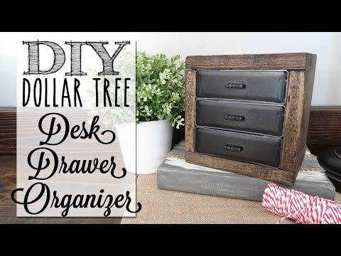 diy-desk-organizer-drawers-|-dollar-tree-craft
