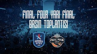 #EuroLeague #FinalFour Yarı Final Basın Toplantısı