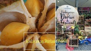 2016 Kadayawan Durian Festival || Busyqueenphils Vlog