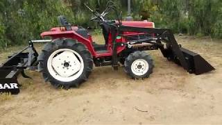 Yanmar FX17D used compact tractor for sale by Toughtractors.com