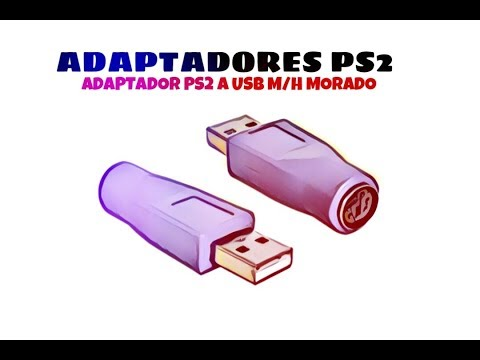Video de Adaptador PS2 a USB M/H  Morado