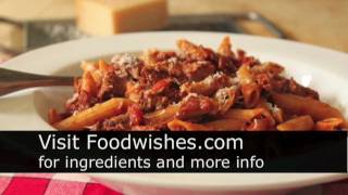 Food Wishes Recipes - Beef Meat Sauce For Pasta - Beef Brisket Cherry Tomato Meat Sauce Recipe - How To Make Meat Sauce