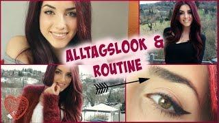 Alltags make up tutorial look ( deutsch )| Schule / Arbeit | Luisa Crashion