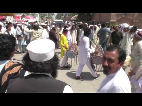 Protesters Dance Through Streets Of Peshawar