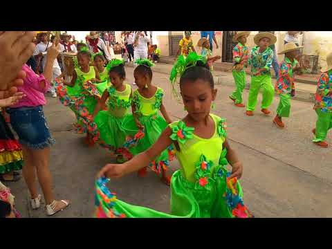 5to encuentro intermunicipal infantil del mar 2018 en Puerto Colombia - Atlántico - Colombia