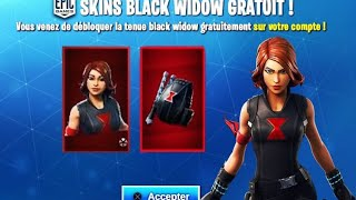 NEW PACK -WIDOW FREE ON FORTNITE