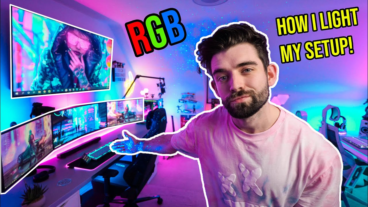 transform your gaming setup with rgb lighting how i light my gaming room