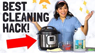 How to Clean Your Instant Pot w/a GENIUS HACK!