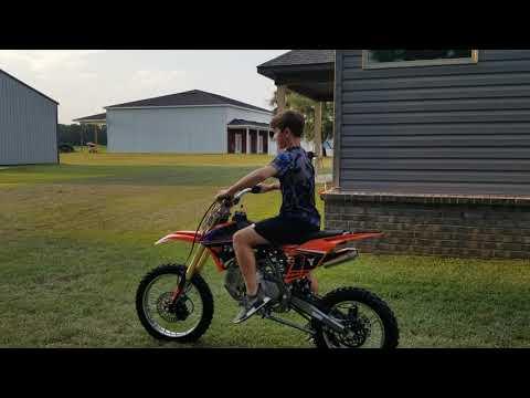 Tao Tao DBX1 140cc Dirt Pit Bike Muffler Swap How To with Links