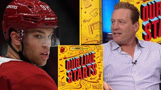 Taylor Hall trade means Coyotes are playoff contenders | Our Line Starts | NBC Sports