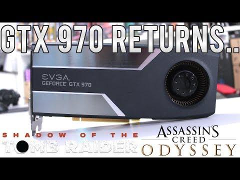 NVIDIA GTX 970 4GB em Shadow Tomb Raider e AC Odyssey - Roda tudo ainda em 2018/2019?