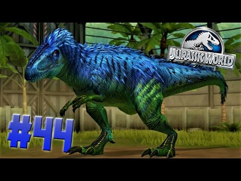 Level 40 YUTYRANNUS!!!-Jurassic World:The Game Ep. #44