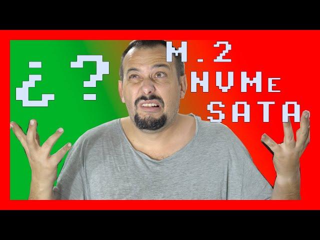 #14 👉 Explicación DISCOS duros M.2, SATA, NVMe, SATA