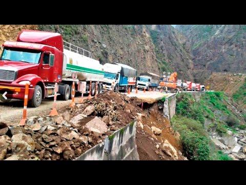 Carretera Central: se registraron nuevos huaicos