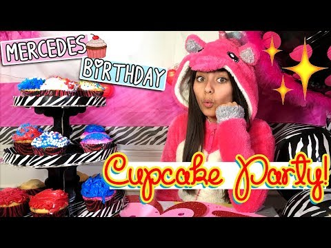 Happy Birthday Mercedes - Cupcake Decorating Party - BeGummy - B-Day Fun : VLOGIT // GEM Sisters