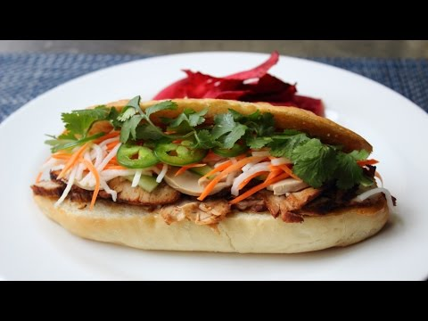 Banh Mi Sandwich How to Make a Bánh Mì Vietnamese-Style Sandwich