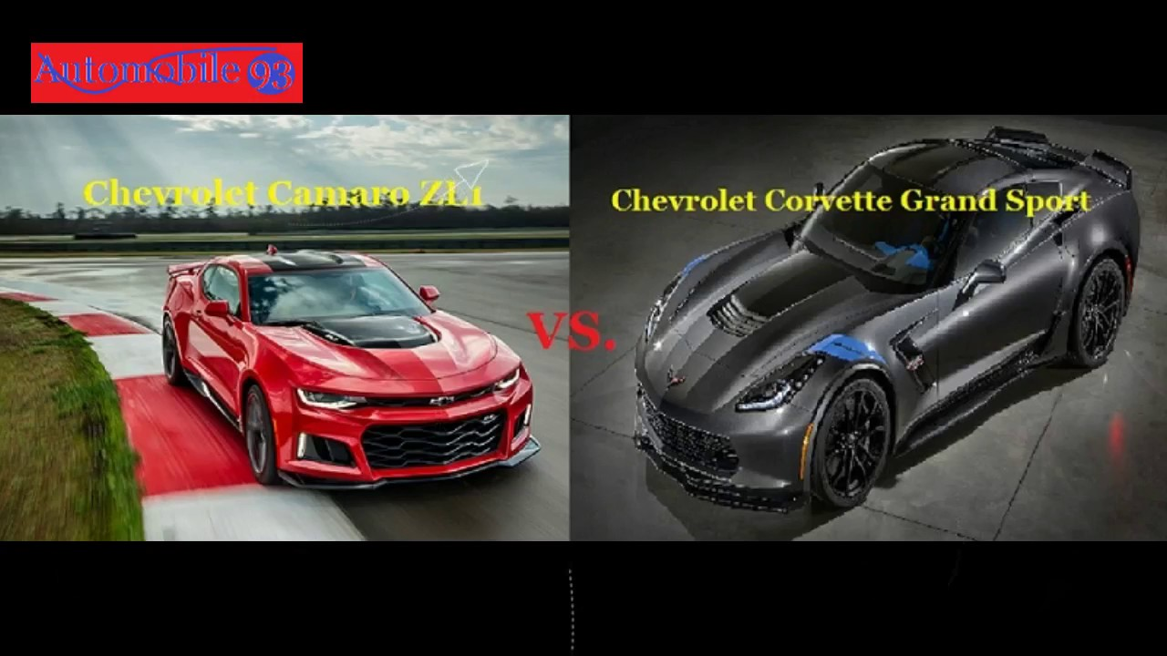 Fight Chevrolet Camaro Zl1 Vs Chevrolet Corvette Grand