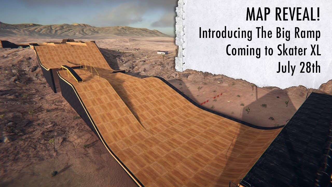 Skater XL - Introducing The Big Ramp 🤯 Coming July 28th, 2020