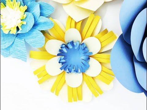 DIY Paper flower backdrop Plus Circle 04 paper cardstock